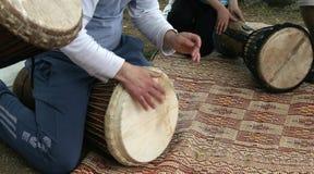 Batteristi del Medio-Oriente Fotografie Stock