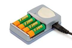 batteriuppladdare arkivbilder