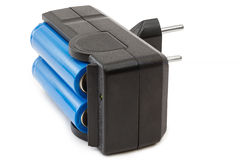 Batteriuppladdning Royaltyfri Fotografi