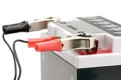 batteriuppladdningsmotorcykel Fotografering för Bildbyråer