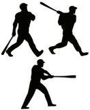 batters бейсбола бесплатная иллюстрация