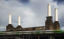 battersea伦敦发电站 图库摄影