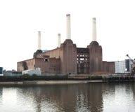 battersea伦敦发电站 库存图片