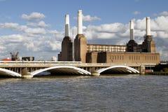 Battersea发电站在伦敦 库存照片