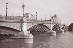 Battersea Bridge; Chelsea; London; England; UK Stock Images