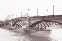 Battersea Bridge; Chelsea; London; England; UK Stock Photo