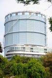 Battersea Gasholder asciutto Londra Inghilterra Regno Unito fotografia stock libera da diritti