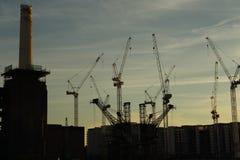 Battersea kraftverk, London Royaltyfria Foton