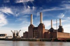 Battersea Kraftwerk stockbilder