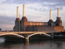 Battersea Kraftwerk Lizenzfreie Stockfotografie