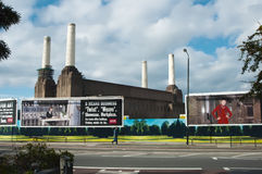 Battersea Kraftwerk London Lizenzfreies Stockbild
