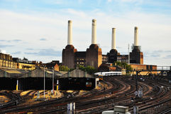 Battersea Kraftwerk London Lizenzfreies Stockfoto