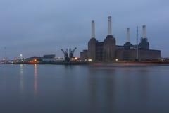 Battersea Kraftwerk London Lizenzfreie Stockfotos