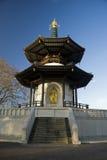 Battersea Park Pagoda. Pagoda in Battersea Park in London, United Kingdom Royalty Free Stock Photo