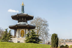 Battersea parkerar pagoden Fotografering för Bildbyråer