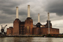 Battersea power plant Royalty Free Stock Photos