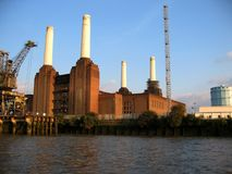 Battersea Power Station. Iconic landmark is sold for 400 million pounds Stock Photos