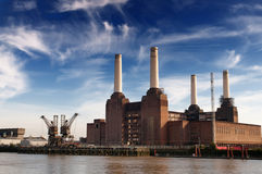 Battersea Power Station. In London Stock Images
