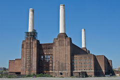 Battersea Power Station. In Battersea, an inner-city district of South West London, UK Stock Images