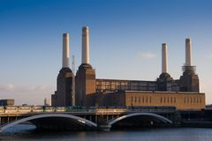 Battersea Power Station. London, UK Stock Photos