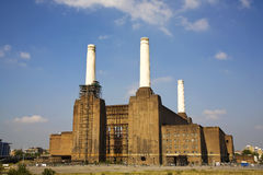 Battersea Power Station. Iconic landmark in the heart of London, England, UK Stock Images