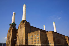 Battersea Power Station. Iconic landmark in the heart of London, England, UK Stock Photography