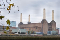 Battersea. Power station (disused) on the south bank of the river thames, London, England Stock Photos