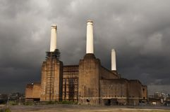 Battersea power station in London Royalty Free Stock Photos