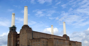 Battersea Power Station in London Stock Image