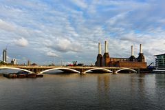 Battersea power station in London Royalty Free Stock Photo