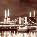 Battersea Power Station London Stock Image