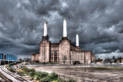 Battersea power station Stock Photography