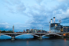 Battersea power station, London, View from Chelsea Bridge Royalty Free Stock Photography