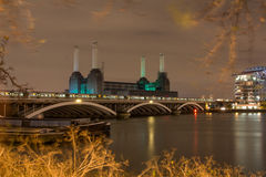 Battersea Power Station at Night,london uk Stock Images