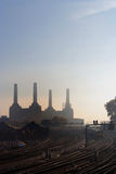 Battersea Power Station from Pimlico Stock Images