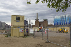 Battersea power station redevelopment Royalty Free Stock Photo