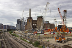 Battersea power station redevelopment Stock Photos