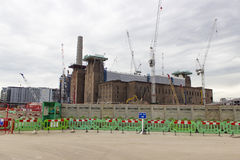 Battersea power station redevelopment Royalty Free Stock Photography