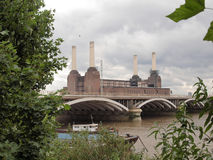 Battersea Powerstation London Royalty Free Stock Images