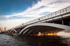 Battersea Railway Bridge, London UK Stock Photos
