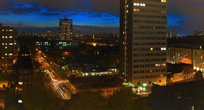 Battersea vanavond Royalty-vrije Stock Fotografie