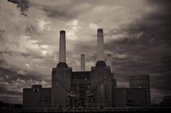 Batterseakrachtcentrale royalty-vrije stock foto's