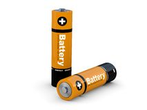 The battery the accumulator Royalty Free Stock Photography