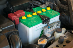 Battery of a car Royalty Free Stock Photography
