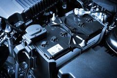 Battery car Royalty Free Stock Photo