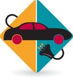 Battery car stock illustration