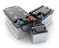 Battery car Stock Photos