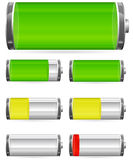 Battery charge Stock Photography