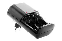 Battery Charger. For AA or AAA batteries Stock Photography