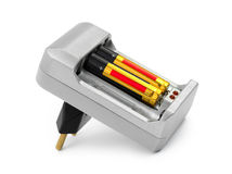 Battery charger Royalty Free Stock Photos